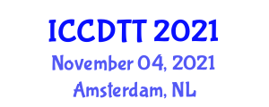 International Conference on Control Design Techniques and Tools (ICCDTT) November 04, 2021 - Amsterdam, Netherlands