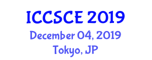 International Conference on Control Systems and Computer Engineering (ICCSCE) December 04, 2019 - Tokyo, Japan