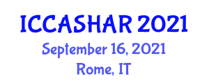 International Conference on Critical Animal Studies and Human-Animal Relations (ICCASHAR) September 16, 2021 - Rome, Italy