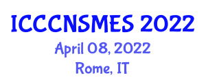 International Conference on Critical Care Nurse, Stress Management and Emotional Support (ICCCNSMES) April 08, 2022 - Rome, Italy