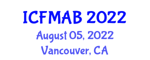 International Conference on Crop Management and Agricultural Biosecurity (ICFMAB) August 05, 2022 - Vancouver, Canada