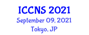 International Conference on Cryptography and Network Security (ICCNS) September 09, 2021 - Tokyo, Japan