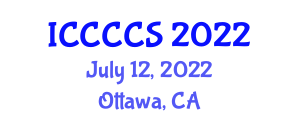International Conference on Cryptography for Cloud Computing Security (ICCCCS) July 12, 2022 - Ottawa, Canada