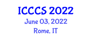 International Conference on Cryptology and Computer Systems (ICCCS) June 03, 2022 - Rome, Italy