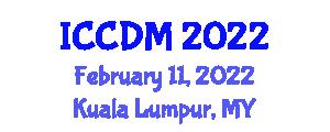 International Conference on Cryptology and Discrete Mathematics (ICCDM) February 11, 2022 - Kuala Lumpur, Malaysia