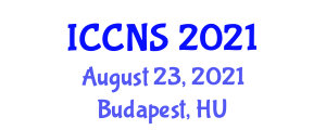 International Conference on Cryptology and Network Security (ICCNS) August 23, 2021 - Budapest, Hungary