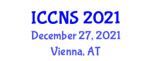 International Conference on Cryptology and Network Security (ICCNS) December 27, 2021 - Vienna, Austria