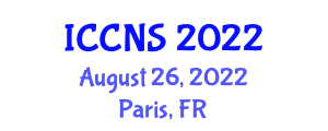 International Conference on Cryptology and Network Security (ICCNS) August 26, 2022 - Paris, France