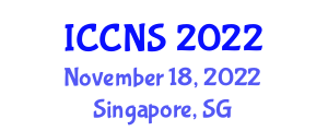 International Conference on Cryptology and Network Security (ICCNS) November 18, 2022 - Singapore, Singapore
