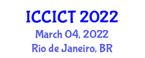 International Conference on Cryptology, Information and Coding Theory (ICCICT) March 04, 2022 - Rio de Janeiro, Brazil