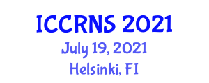 International Conference on Cyber Resilience for National Security (ICCRNS) July 19, 2021 - Helsinki, Finland