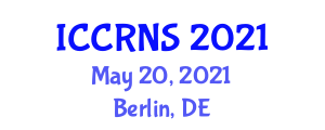 International Conference on Cyber Resilience for National Security (ICCRNS) May 20, 2021 - Berlin, Germany