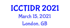 International Conference on Cybernetic Technology, Innovative Designs and Robotics (ICCTIDR) March 15, 2021 - London, United Kingdom