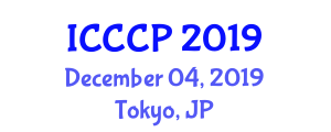 International Conference on Cybernetics and Communication Process (ICCCP) December 04, 2019 - Tokyo, Japan