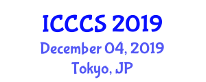 International Conference on Cybernetics and Computer Systems (ICCCS) December 04, 2019 - Tokyo, Japan