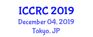 International Conference on Cybernetics, Regulation and Control (ICCRC) December 04, 2019 - Tokyo, Japan