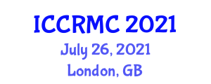 International Conference on Cybernetics, Robotics, Modeling and Control (ICCRMC) July 26, 2021 - London, United Kingdom