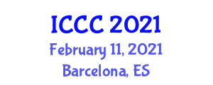 International Conference on Cybersecurity and Cyberwar (ICCC) February 11, 2021 - Barcelona, Spain