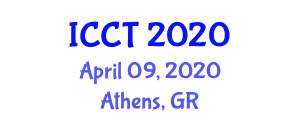 International Conference on Cybersecurity, Crime and Threats (ICCT) April 09, 2020 - Athens, Greece