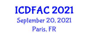 International Conference on Dairy Farming and Animal Conservation (ICDFAC) September 20, 2021 - Paris, France