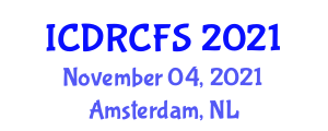 International Conference on Data Representation and Computer File Systems (ICDRCFS) November 04, 2021 - Amsterdam, Netherlands