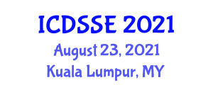 International Conference on Data Science for Software Engineering (ICDSSE) August 23, 2021 - Kuala Lumpur, Malaysia