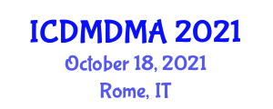 International Conference on Database Management and Data Mining Applications (ICDMDMA) October 18, 2021 - Rome, Italy