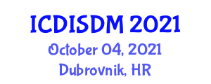 International Conference on Databases, Information Systems and Database Management (ICDISDM) October 04, 2021 - Dubrovnik, Croatia