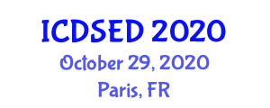 International Conference on Deep-Sea Environments and Discoveries (ICDSED) October 29, 2020 - Paris, France