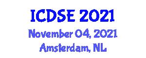 International Conference on Deep-Sea Environments (ICDSE) November 04, 2021 - Amsterdam, Netherlands