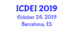 International Conference on Dental Ethics and Implants (ICDEI) October 24, 2019 - Barcelona, Spain