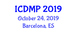 International Conference on Development Management and Planning (ICDMP) October 24, 2019 - Barcelona, Spain