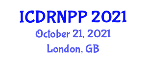 International Conference on Developmental Robotics, New Paradigms and Perspectives (ICDRNPP) October 21, 2021 - London, United Kingdom