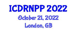 International Conference on Developmental Robotics, New Paradigms and Perspectives (ICDRNPP) October 21, 2022 - London, United Kingdom