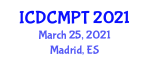 International Conference on Diamond and Carbon Materials Processing Technology (ICDCMPT) March 25, 2021 - Madrid, Spain