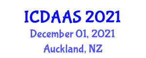 International Conference on Digital Agriculture and Agricultural Science (ICDAAS) December 01, 2021 - Auckland, New Zealand