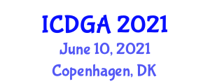 International Conference on Digital Geography and Applications (ICDGA) June 10, 2021 - Copenhagen, Denmark
