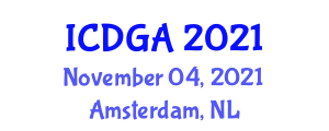 International Conference on Digital Geography and Applications (ICDGA) November 04, 2021 - Amsterdam, Netherlands