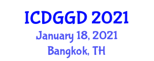 International Conference on Digital Geography and Geographic Data (ICDGGD) January 18, 2021 - Bangkok, Thailand