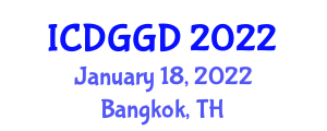 International Conference on Digital Geography and Geographic Data (ICDGGD) January 18, 2022 - Bangkok, Thailand