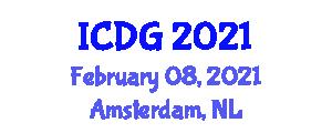 International Conference on Digital Geography (ICDG) February 08, 2021 - Amsterdam, Netherlands