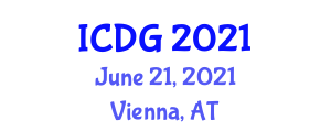 International Conference on Digital Geography (ICDG) June 21, 2021 - Vienna, Austria