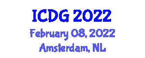 International Conference on Digital Geography (ICDG) February 08, 2022 - Amsterdam, Netherlands