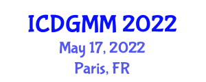 International Conference on Digital Geography, Mapping and Modeling (ICDGMM) May 17, 2022 - Paris, France