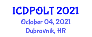 International Conference on Digital Pedagogy in Online Learning and Teaching (ICDPOLT) October 04, 2021 - Dubrovnik, Croatia