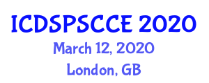 International Conference on Digital Signal Processing and Speech Coding in Computer Engineering (ICDSPSCCE) March 12, 2020 - London, United Kingdom