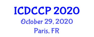 International Conference on Dispersion Chemistry and Colloidal Particles (ICDCCP) October 29, 2020 - Paris, France