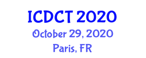 International Conference on Dispersion Chemistry and Thermodynamics (ICDCT) October 29, 2020 - Paris, France