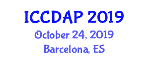 International Conference on Domestic Animals and Parasitology (ICCDAP) October 24, 2019 - Barcelona, Spain
