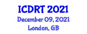 International Conference on Domestic Robotic Technologies (ICDRT) December 09, 2021 - London, United Kingdom